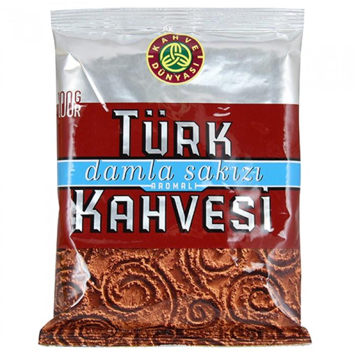 Kahve Dünyası Türk Kahvesi Damla Sakızlı 100 g
