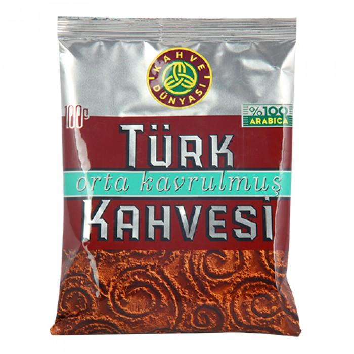 Kahve Dünyası Türk Kahvesi Orta Kavrulmuş 100 g