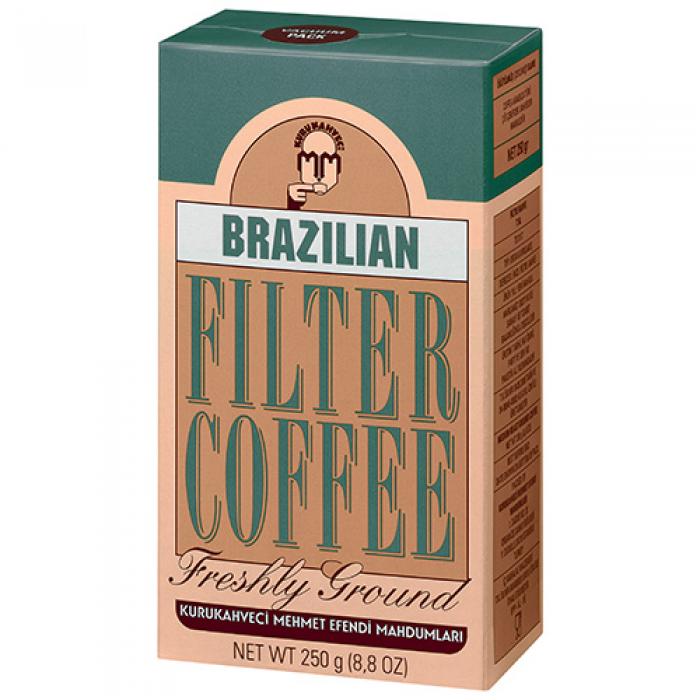 Kurukahveci Mehmet Efendi Brazilian Filtre Kahve 250 g