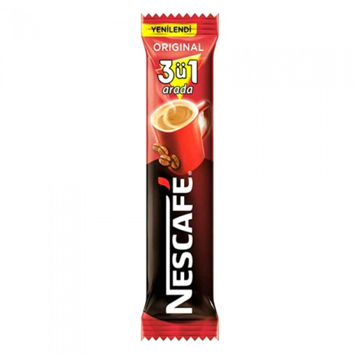 Nescafe Hazır Kahve 3'ü 1 Arada 56 Adet