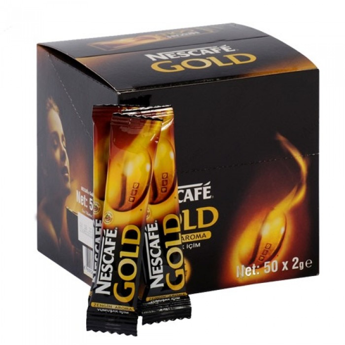 Nescafe Gold Hazır Kahve 2 g 50 Adet
