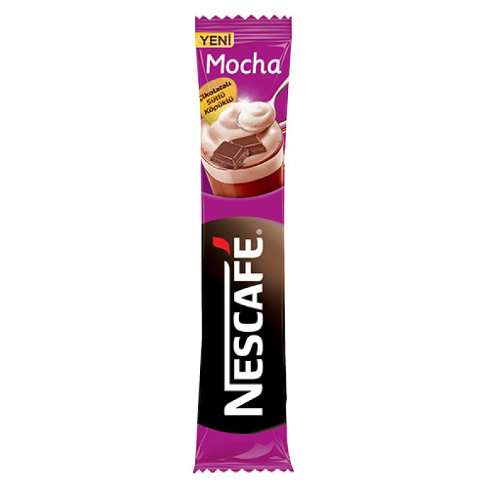 Nescafe Hazır Kahve Mocha 17 g 24 Adet