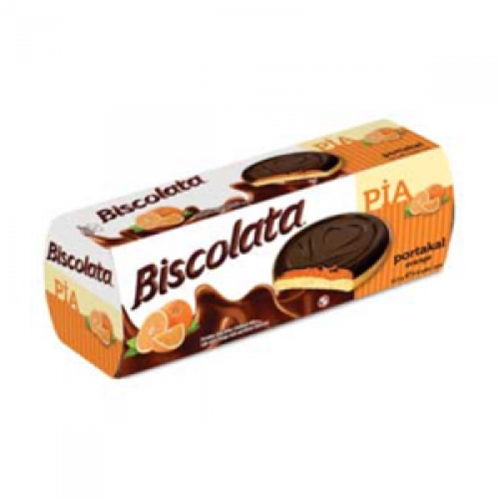 Biscolata Pia Kek Portakal Jöleli Bitter Çikolatalı 100 g