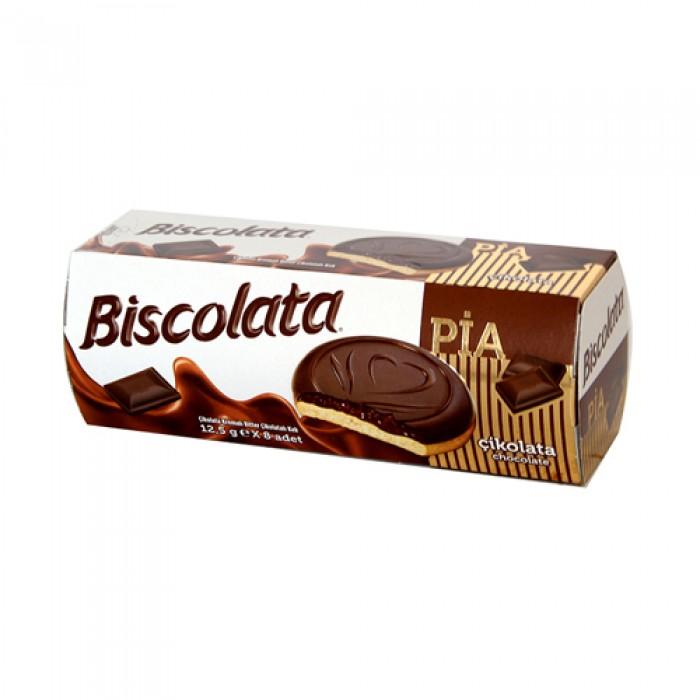 Biscolata Pia Kek Kremalı Bitter Çikolatalı 100 gr
