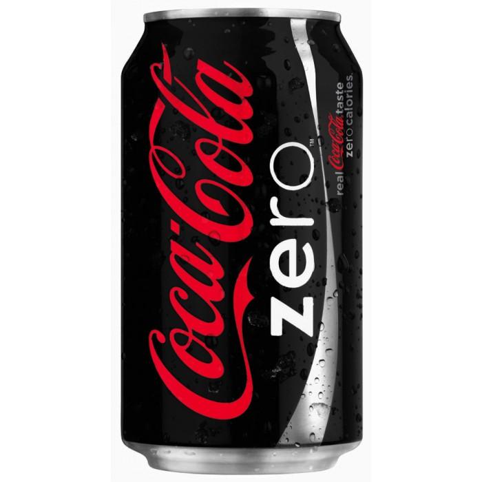 Coca Cola Zero 330 ml 24 Adet