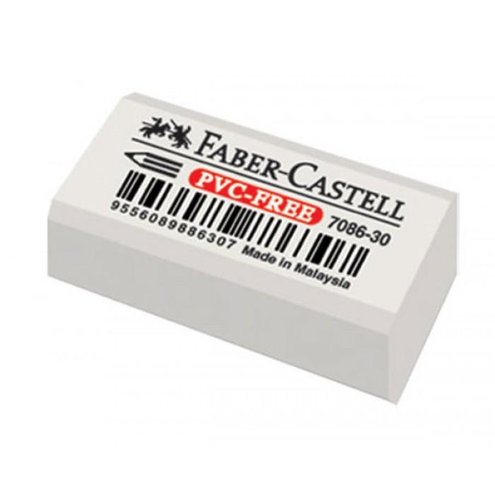 Faber Castell 7086-30 PVC-Free Beyaz Silgi