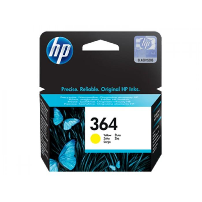 HP 364  Sarı Mürekkep Kartuş 300 Sayfa
