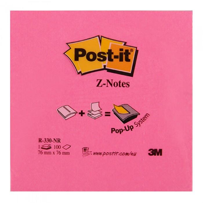 3M Post-It Not Kağıdı 76 x 76 mm Z Neon Renkler 100 Yaprak