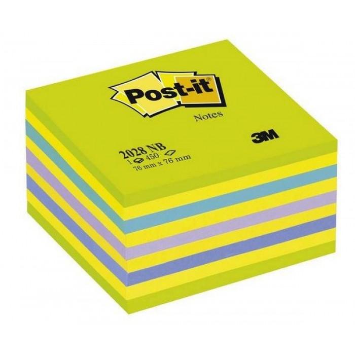 3M Post-It Not Kağıdı 76 x 76 mm Yeşil Tonları 450 Yaprak