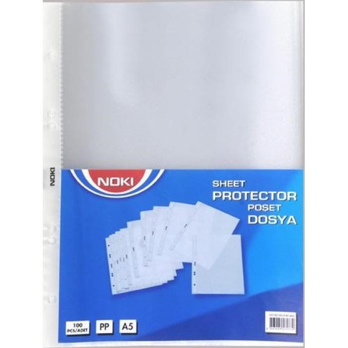Noki Poşet Dosya A5 100'lü Paket