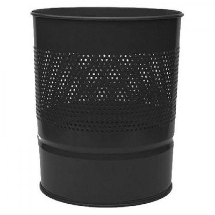 Mas Çöp Kovası Yarım Delikli Metal 10 L