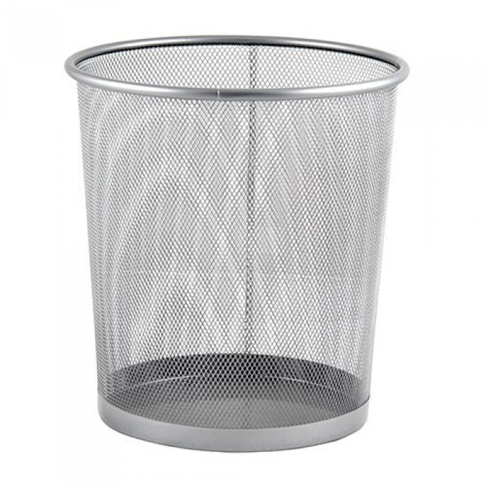 Mas 854 Çöp Kovası Metal Tam Delikli 10 L