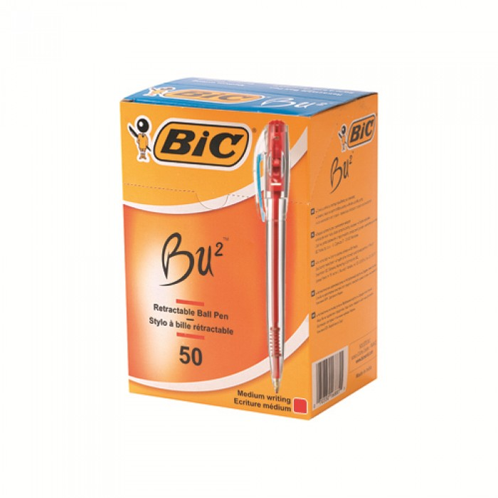 "Bic Bu2 1.0 Tükenmez Kalem 50""li Kutu"