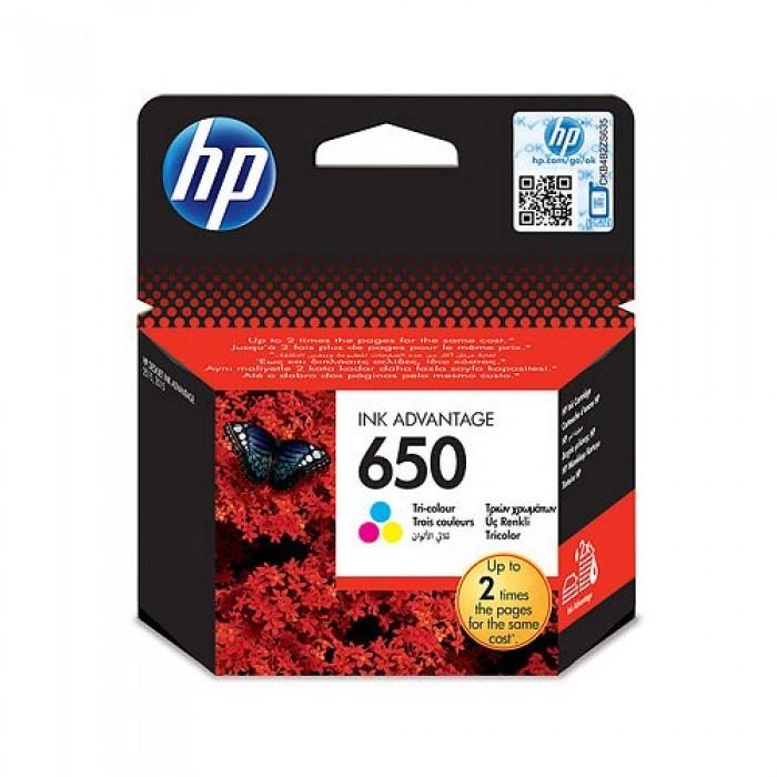 HP 650 Üç Renkli Kartuş CZ102AE 200 Sayfa