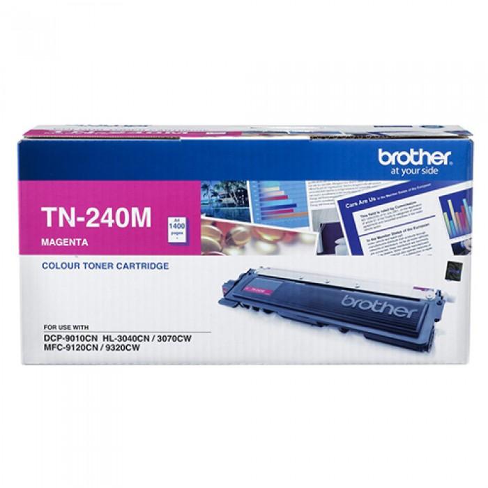 Brother TN-240M Kırmızı Lazer Toner 1400 Sayfa
