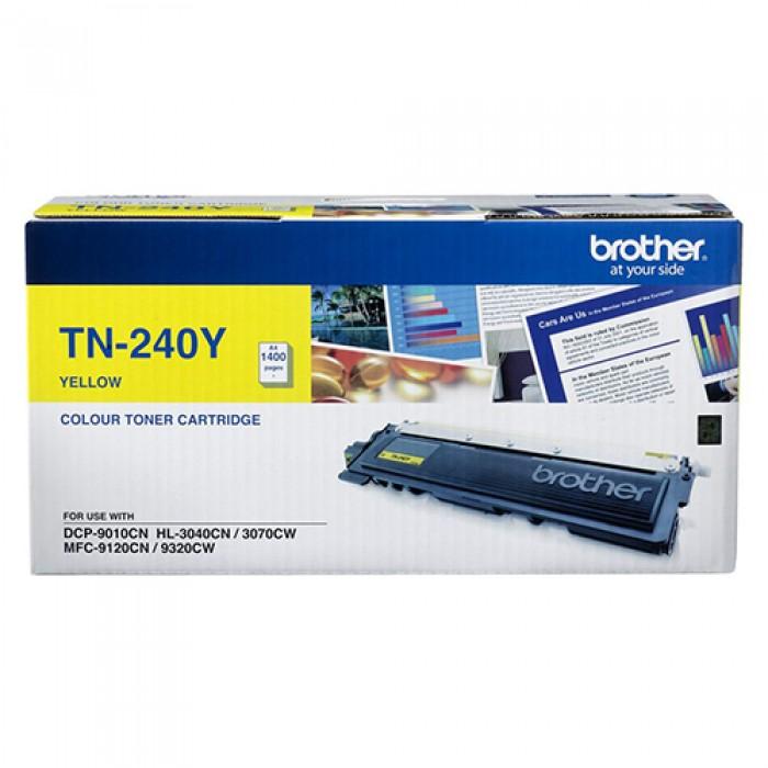 Brother TN-240Y Sarı Lazer Toner 1400 Sayfa