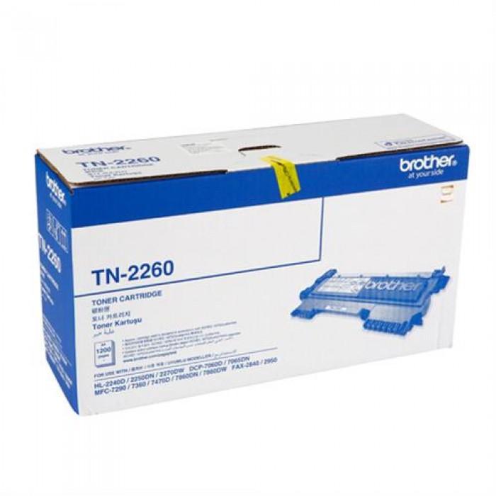 Brother TN-2260 Siyah Lazer Toner 1200 Sayfa