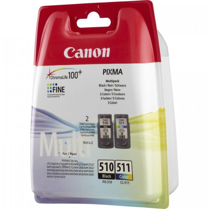 Canon PG-510/CL-511 Multipack Mürekkep Kartuş  220 Sayfa