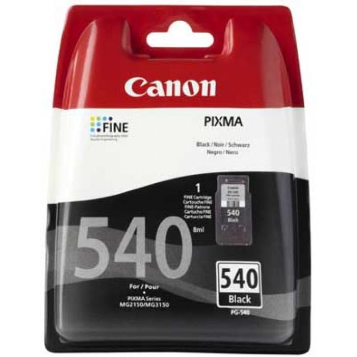 Canon PG-540 Siyah Mürekkep Kartuş  180 Sayfa