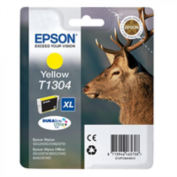 Epson T1304 XL C13T13044010 Sarı Mürekkep Kartuş 1000 Sayfa
