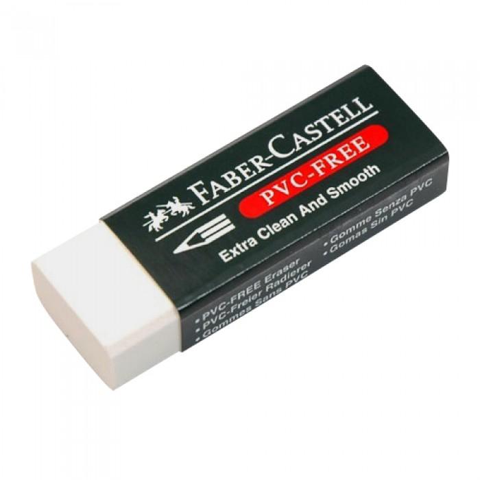 Faber Castell PVC-Free Büyük Beyaz Silgi