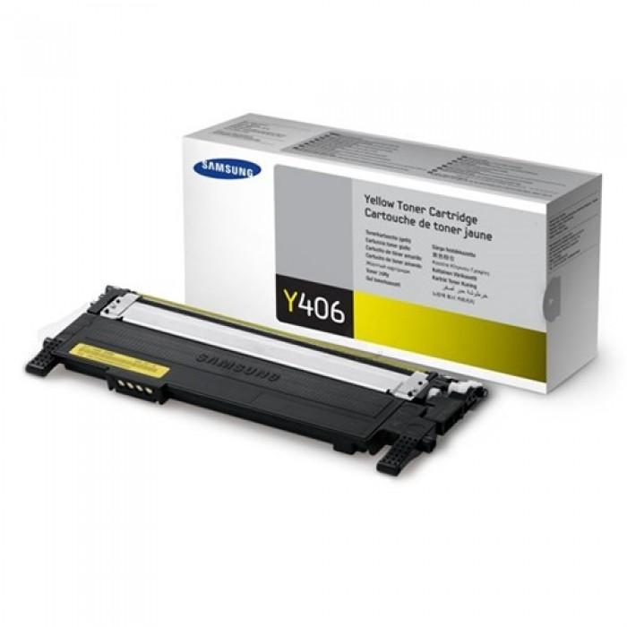 Samsung Y406 CLT-Y406S/ELS Sarı Lazer Toner 1000 Sayfa