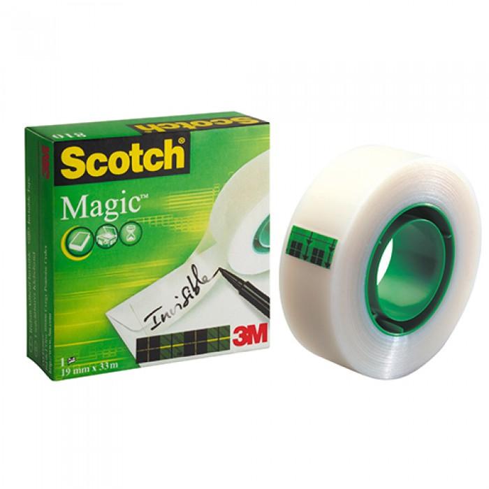 3M Scotch Görünmez Bant 19 mm x 33 m Magic 810