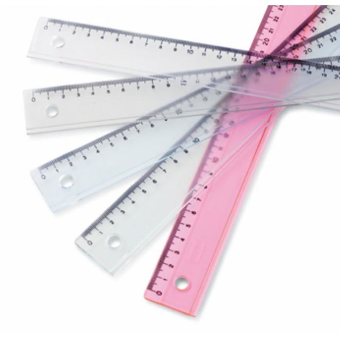 Mas 2230 Plastik Cetvel 30 cm