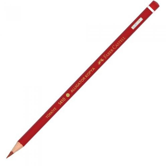 Faber Castell 1410 Kırmızı Kopya Kalemi