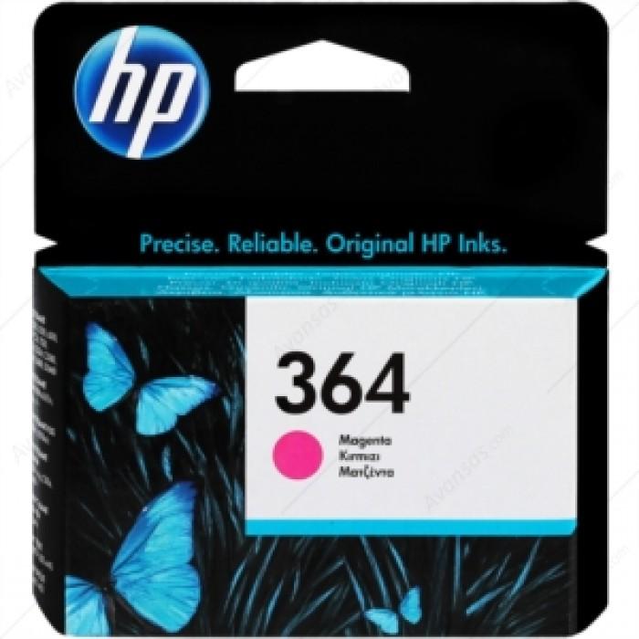 HP 364  Kırmızı Mürekkep Kartuş 300 Sayfa