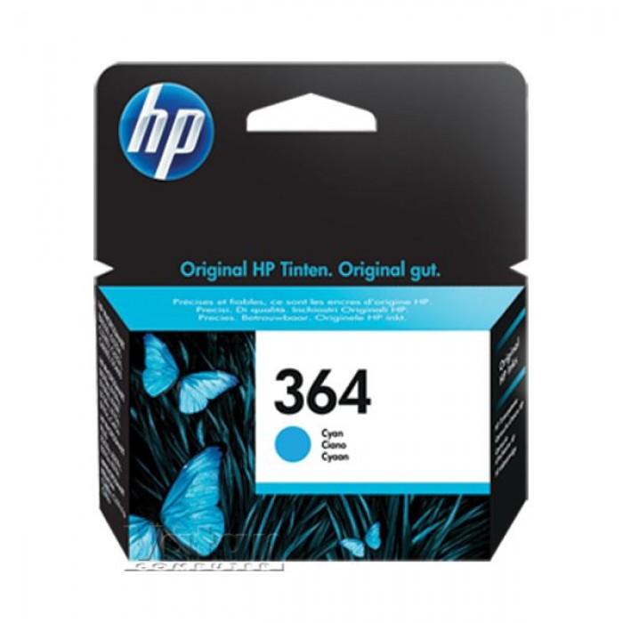 HP 364 CB318EE Mavi Mürekkep Kartuş 300 Sayfa